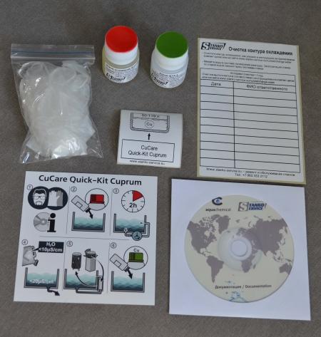 CuCare Quick-Kit Cuprum (Ref№ 1653112) - содержимое комплекта