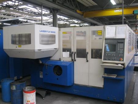 Laser Cutting TRUMPF Trumatic L 3030-2000W LM-1705