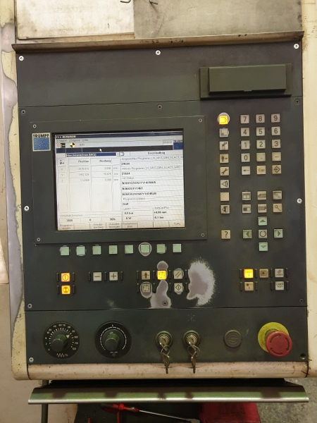 Пульт оператора TRUMPF TC L3030 2000г
