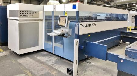Лазерный станок Trumpf TruLaser 3030 L20 6000W 2012г