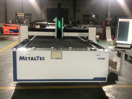 Изображение Волоконного лазера MetalTec 1530B вид в цеху