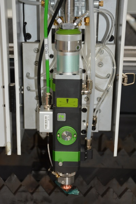Фотография Режущего блока волоконного лазера