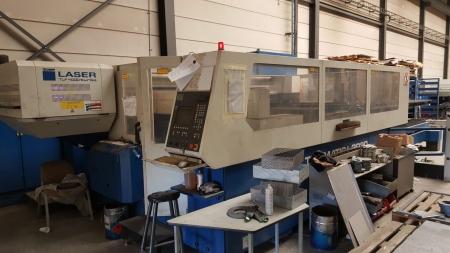 Laser Cutting TRUMPF Trumatic L 3030- 4000W LM-1907