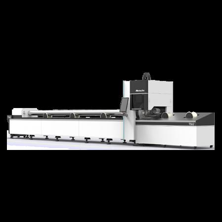 Фото Оптоволоконного лазерного станка для резки металлических труб и профилей MetalTec TS62