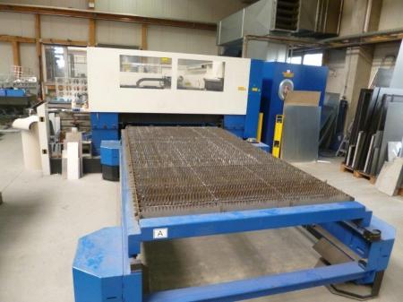TruLaser 3030 4000W сменщик палет