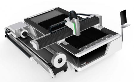 Лазерный станок Bodor laser F3015T с опцией резки трубы и профиля