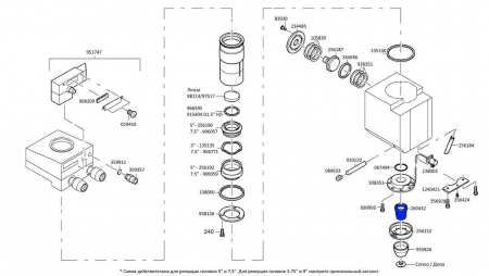260432 Керамический держатель сопла DIAS III для TRUMPF Cutting Head