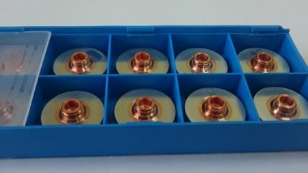 Упаковка Дюз / Сопел 1,7 мм хромированных 352284 HG 10.154/C