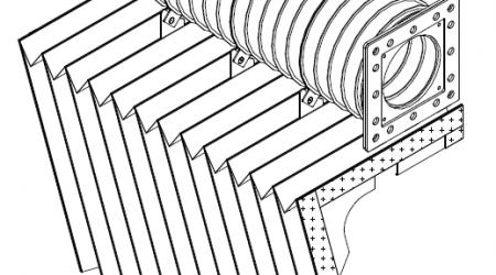 Гофрированный канал хода луча (ось Y) 3030 L20