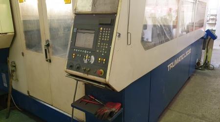 Laser Cutting Trumpf TC L3030 4000W 2000 LC-004