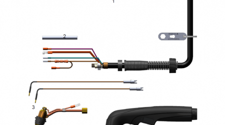 Схема ручного резака FHT-EX 30H артикул EX-1-134-001