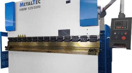 Hydraulic press brake MetalTec HBM 125/2500 E22
