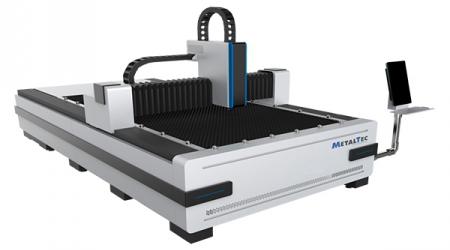 Faseroptische Laserschneidmaschine MetalTec 1530 BL (MAX-1000 W)