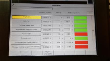 TRUMPF TruLaser 3030 3200W - Screen