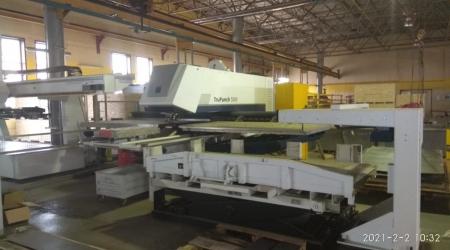 Вырубной пресс Trumpf TruPunch 5000-1300 SheetMaster ST-2109