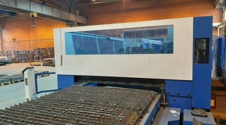 Laser Cutting Trumpf Trumatic L 3050 6000W 2004y LM-3009