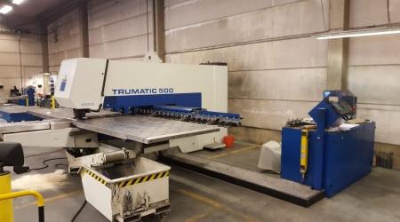 Вырубной пресс TRUMPF Trumatic 500R