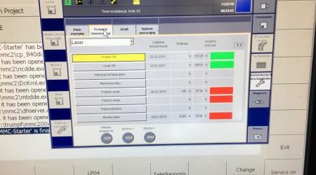 TruLaser 3030 L20 4000W - screen