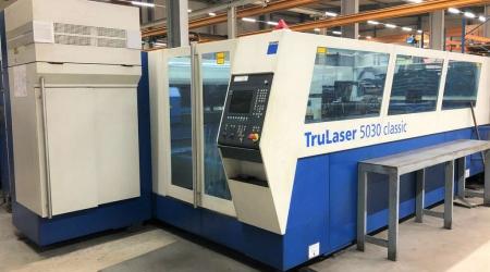 Laser Cutting Trumpf TruLaser 5030 5000W 2008г. LM-2012-1