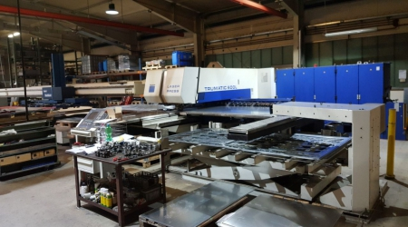 Лазер-пресс TRUMPF Trumatic 600L-1600 FMC  2400W