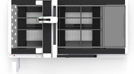 Лазерный станок Bodor Laser серии E3015 вид сверху