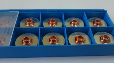 Коробка Дюз / Сопел 2,3 мм хромированных 352285 HG 10.158/C